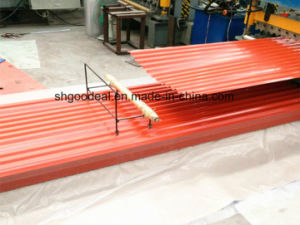 Zinc Coated Galvanized Corrugated Steel Roofing Sheet pictures & photos