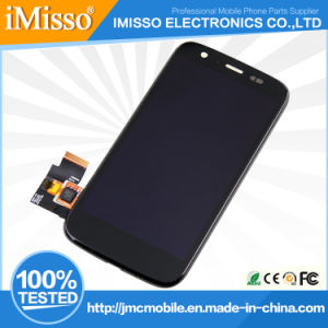 Whole Sale Price Cellular Phone LCD Screen Digitizer Display for Moto G Xt1032 Universal Version with Frame