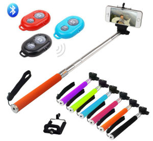 Wireless Selfie Monopod Stick with Remote Shutter for Android Phone and iPhone