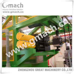 Double Pillar Continuous Screen Changer for Pet Monofilament Extrusion Machine pictures & photos