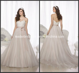 Lace Wedding Dresses A-Line Bridal Dress Ball Gown W1517 pictures & photos