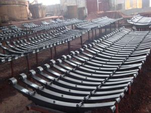 Truck Trailer Suspension Parts Steel Leaf Spring pictures & photos