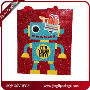 Brithday Shopping Gift Paper Bags Glossy Lamination Gift Bags Shopping Bags pictures & photos