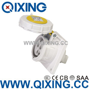 High Current Plug Socket 63A Industrial Plug and Socket with Switch pictures & photos