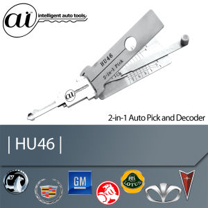 Locksmith Tool for Opel HU46 2in1 Pick and Decoder