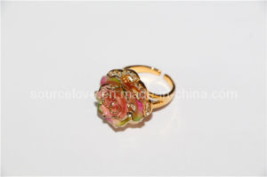 24k Gold Dipped Rose Fashion Rings (JZ013)