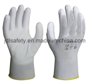 Safety Work Gloves with PU Coated (PN8001) pictures & photos
