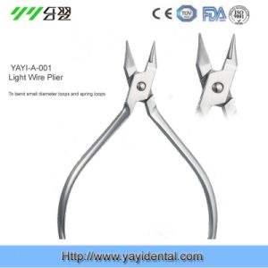Low Price Orthodontic Instruments of Light Wire Plier (YAYI-001) pictures & photos
