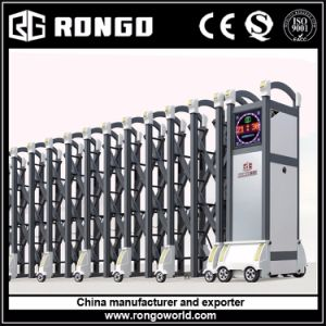 Automatic Factory Collapsible Main Gate pictures & photos