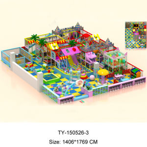 2015 Best Sale New Kids Indoor Playground Equipment, (TY-150526-3) pictures & photos