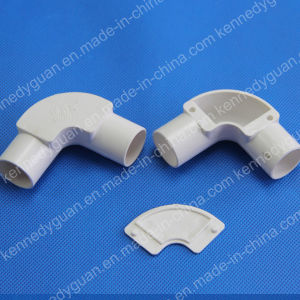 Electrical Pipe Fittings PVC Conduit Saddle pictures & photos