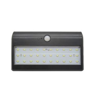 LED Outdoor Solar Motion Sensor PIR Security Wall Light pictures & photos