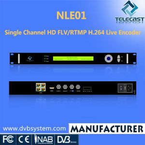 Single Channel HD Flv/Rtmp H. 264 Live Encoder (NLE01)