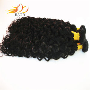 6A Peruvian Virgin Hair Weave Jerry Curl Human Hair Extension pictures & photos