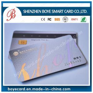 Full Color Contact Smart IC Card pictures & photos