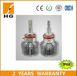 H8 H11 Hi/Low Beam 25W LED Headlight Bulb for Motorcycle pictures & photos