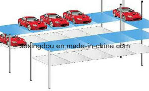 Sliding Car Parking System 2, 3 Level/Transverse Slide Elevator Mechanical Parking System pictures & photos