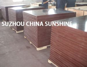 12mm, 15mm, 18mm Film Faced Plywood/Waterproof Plywood/Phenolic Plywood with Poplar and Hardwood Core pictures & photos