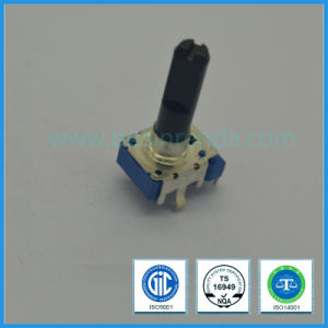 11mm 100k Ohm Rotary Potentiometer with Insulated Long Shaft pictures & photos