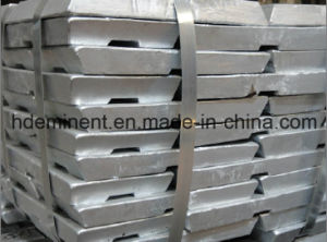 99.99% Pure Zinc Ingots for Electroplating pictures & photos