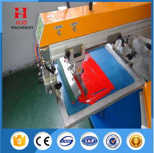 Hjd-a Round Shape Automatic Screen Printing Machine for Sale pictures & photos