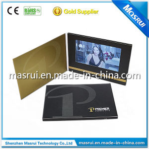 7inch Invitation LCD Video Greeting Cards Graphic Card