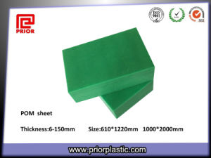 Acetal Sheet Green Color with High Hardness pictures & photos