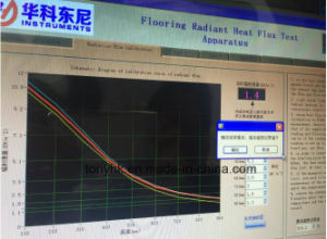 Flooring Radiant Heat Flux Test Apparatus pictures & photos