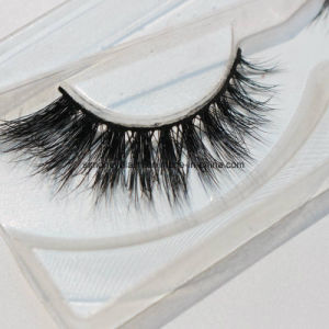 Luxurious Handmade Natural Mink Hair Eyelashes with Beauty Equipment pictures & photos