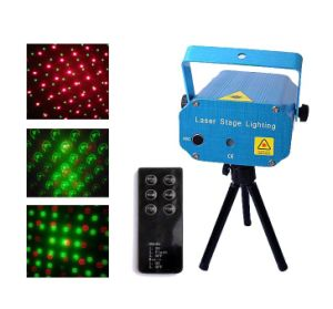 10 in 1 Mini Laser Stage Lighting with Remote Controller (XL-SL-036)