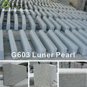 Grey Granite Mushroom Kerbstone Garden Stone and Paving Stone for Exterior pictures & photos