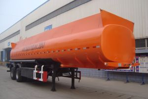2 Axles Carbon Steel Fuel Tanker Semi-Trailer pictures & photos
