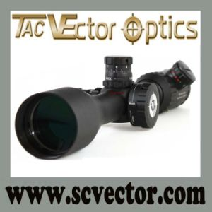 Vector Optics Sharpshooter 30mm Mil-DOT Monutube Side Focus Illuminated Asr Military Rifle Scopes 10X50 Fir pictures & photos