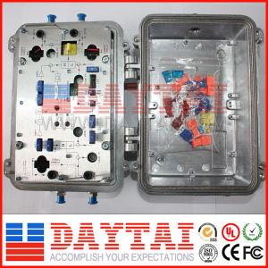 Outdoor CATV High-Class Trunk Amplifier with Agc Htaa-8200 pictures & photos