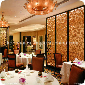 Metal Stainless Steel Restaurant Room Partition Screen pictures & photos