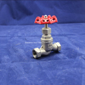 Stainless Steel S Type Globe Valve with Thread End pictures & photos