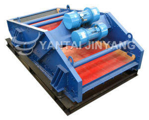 Large Capacity Dewatering Vibrating Screen for Silica Sand