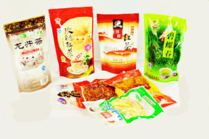 Stand up with Zipper Lock Tea Plastic Bag pictures & photos