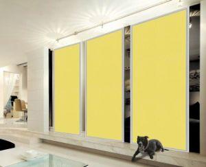 china custom made bedroom wardrobe sliding doors acrylic door panel