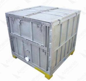 Foldable Metal IBC