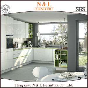 N&L 2017 Modern High Gloss Lacquer MDF Kitchen Furniture pictures & photos