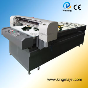Mj1125 Digital Flatbed Printer for Leather/PU/PVC/Tshirt/Metal/Wood