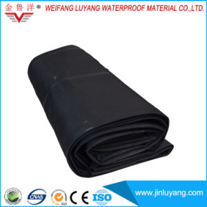 China Supply Black EPDM Rubber Roofing Waterproof Membrane for Flat Roof pictures & photos