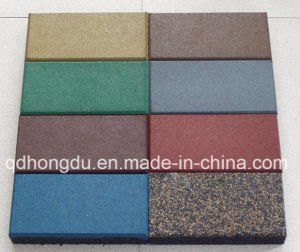 Multi Thickness Rubber Flooring Brick pictures & photos