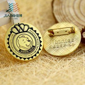 Antique Color Custom Metal Enamel Animal Lapel Pin Badge pictures & photos
