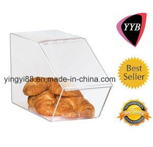 Best Seller Slant Front Acrylic Food Bin pictures & photos