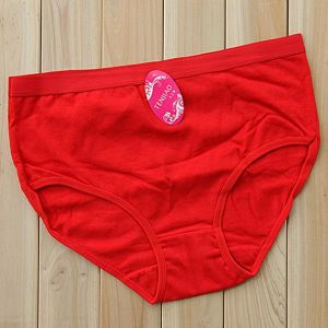 Red Ladies′ Panties  (TP-25901)