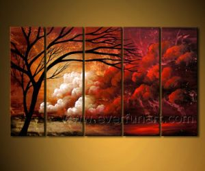 Landscape Oil Painting for Wall Decorative pictures & photos