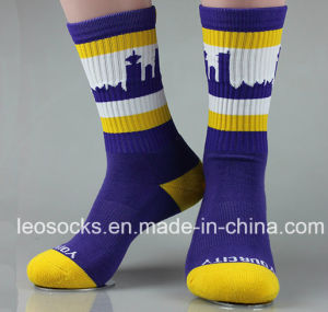 Bulk Wholesale Custom Man Sports Cotton Socks Manufacturers pictures & photos