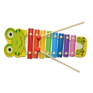 Wooden Music Toy Xylophone Frog (81941-1) pictures & photos